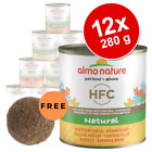 Almo Nature HFC Saver Pack 12 x 280g Wet Cat Food Selection + Free Catnip Ball