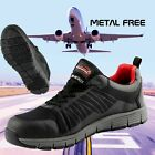 Arma Hawk Breathable Mens Safety Composite Metal Free Flyknit Trainers Airside