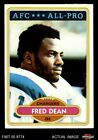 1980 Topps #392 Fred Dean Chargers EX/MT $4.5 USD on eBay