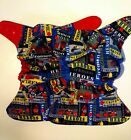 Kyпить SassyCloth one size pocket diaper with firetrucks cotton print. на еВаy.соm