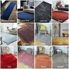 VELVET SILKY SHAGGY NON-SHED SOFT TOUCH QUALITY LOW COST SMALL LARGE RUG RUNNER