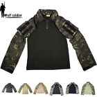 Mens Military Tactical Army Combat Shirt Gen3 Uniform Casual T-Shirt Camouflage