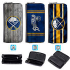 Buffalo Sabres Leather Long Women Wallet Clutch Purse Zip Around $15.99 USD on eBay