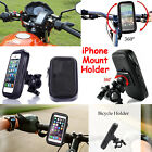 Bicycle Bike Mount Phone Holder For Various iPhone Mobiles Waterproof Case Cover