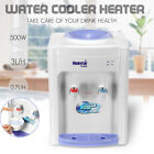 220V Water Filter Machine Cold & Hot Warm Water Cooler Dispenser Table Top  !