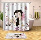 Betty Boop Butterflies Shower Curtain $59.95 AUD on eBay