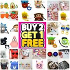 AirPods Cute 3D Cartoon Silicone Case cover For Apple Airpod 1 & 2 Charging Case $7.49  on eBay