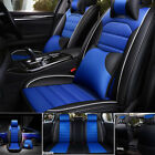 11Pcs Car Seat Cover Protector+Cushion Front & Rear Full Set PU Leather Interior on eBay