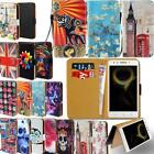 Leather Smart Stand Wallet Cover Case For Lenovo S Series SmartPhones
