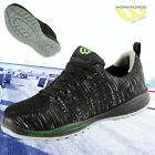 Workforce Steel Toe Cap Black Flyknit Breathable Safety Trainer Lightweight wf35