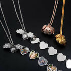 Hot Expanding Photo Locket Necklace Pendant 5 Photos Angel Wing Jewelry Gift
