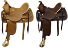 Circle S Saddlery Fully Tooled Basketweave Tooled FQHB Roping Style SADDLE