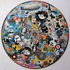 """LED ZEPPELIN 7"""" or 12"""" inch TURNTABLE platter MAT (audiophile quality)"""