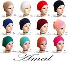 ❤️AMAL Muslim Cap For Women Under Scarf Cotton Islamic Hijab 🚚 Fast Shipping US