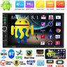 2DIN 4-Core Android 8.1 7in 1+16GB Car Stereo MP5 GPS Navi BT WiFi USB FM Radio