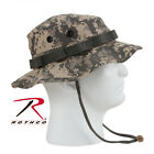 Boonie Hat ACU Camo Vented Fitted Ripstop Rothco 5891