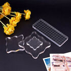 Sculpture Clay Pressure Pottery Workbench Stamps Block Acrylic Pad Transparent