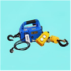 300KG Portable electric winch hand electric steel wire rope