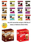 Nescafe Dolce Gusto Pods/Capsules FREE MALTESER/GALAXY BOX WHEN YOU BUY 2 BOXES