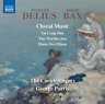 GEORGE PARRIS & THE CARICE SINGERS-DELIUS & BAX: CHORAL MUSIC-JAPAN CD C15