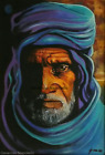 The Wise Berber Limited Edition A4 A3 A2 PRINT of Original Oil Painting