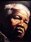 Nelson Mandela Limited Edition A4 A3 A2 PRINT of Original Oil Painting