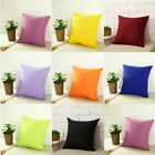 US Pillow Case Cotton Cover Decorative Square Home Room Throw Cushion Cover image