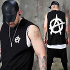 NewStylish Mens Unique symbol boxy tank top