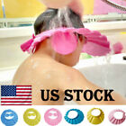 Kyпить 1x Adjustable Bathing Shower Shampoo Water Cap Hat Ear Hair Shield For Kids Baby на еВаy.соm
