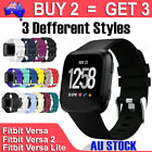 For Fitbit Versa 2/ Lite Band Silicone Strap Wristband Replacement Sports Bands
