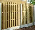 STF Wooden Fence Panels / Hit & Miss / Hit and Miss / Windproof / Double Sided