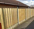 STF Wooden Fence Panels / Full Face / Privacy Fencing