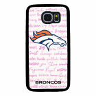 DENVER BRONCOS PHONE CASE FOR SAMSUNG GALAXY S5 S6 S7 S8 S9 S10 PLUS E EDGE NOTE $14.99 USD on eBay