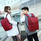 Unisex Anti Theft USB Charging Port Travel Laptop Bags Business School Backpack#