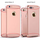 Original Ultra Thin Slim 3IN1 Protector Case Cover For iPhone X 6S 7 8 PLUS+