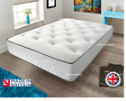 NEW MEMORY FOAM SPRING MATTRESS 3ft, 4ft, 4ft6 Double, 5ft King Size,6ft matres