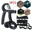 Hand Grip Strengthener Strength Gripper Finger Exerciser Therapy Forearm Trainer image