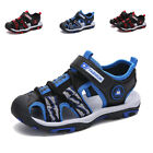 Kids Boys Girls Casual Closed Toe Outdoor Sandals Summer Non Slip Walking Shoes
