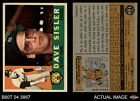 1960 Topps #186 Dave Sisler Tigers EX/MT
