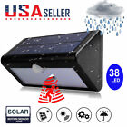 38LEDS Home Garden Waterproof Solar Power Motion Sensor PIR Wall Light Lamp US