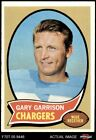1970 Topps #23 Gary Garrison Chargers EX/MT $1.15 USD on eBay