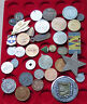 SMALL GROUP / COLLECTION / LOT JETONS MEDALS WORLD, 36 pc, 495 g  #xxD 16