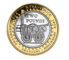 Rare £2 Two pound coins commorative,commonwealth olympic bible mary rose IOM.