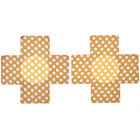 20X Cross One-off Breast Bra Nipple Cover Sticker Pasties Lingerie Gift Sizes fb