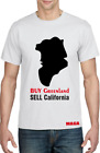 Donald Trump Tee Shirt - Buy Greenland Sell California *MAGA* T Shirt image