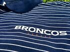 Authentic Nike Denver Broncos Performance Dri-Fit Golf Polo Blue NFL -Von Miller $55.24 USD on eBay