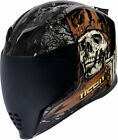 Icon Airflite UNCLE DAVE Full-Face Helmet (Black/Multi) Choose Size