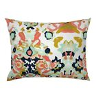 Coral Jubilee / Small Custom Geometric Home Decor Pillow Sham by Roostery image