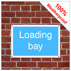 Loading bay information sign INF60 Durable and weatherproof
