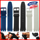 17 Mm Worldwide Standard Swatch Replacement Band Free Shipping Black Strap